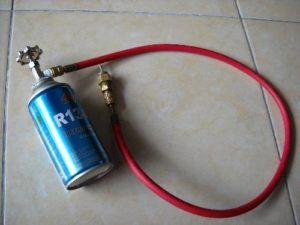 Freon AC Mobil Beku