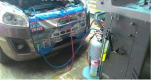Proses Service AC mobil berisik dan tidak dingin
