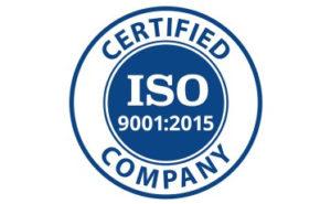 Tersertifikasi ISO 9001 2015
