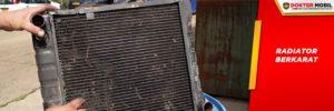 Karat pada Radiator Sering Terjadi Karena Tidak Menggunakan Coolant Anti Karat