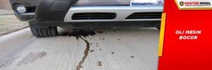 Kebocoran Oli Mobil Bukan Hanya Jatuh ke Lantai atau Aspal Namun Juga Masuk Ke Saluran Pembakaran