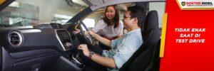 Pastikan Anda Yakin Mobil Enak untuk Ditest Drive Oleh Calon Pembeli