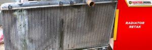 Pastikan Keretakan pada Radiator Mobil untuk Segera Diperbaiki