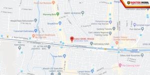Map Dokter Mobil Bekasi