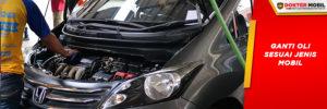 ganti oli sesuai jenis mobil