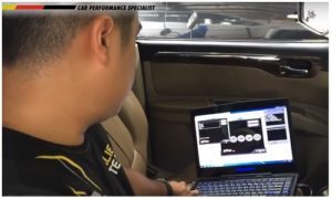 Proses Remap ECU Mobil Pajero Exceed di Dokter Mobil by Mr Lung-Lung