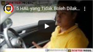 Video Dokter Mobil Mengenai Larangan yang Wajib DIpatuhi oleh Pemilik Mobil Matic